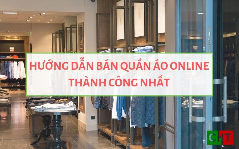 Ảnh đại diện bán quần áo online