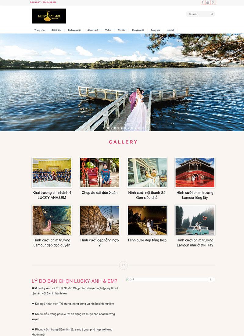 Website áo cưới