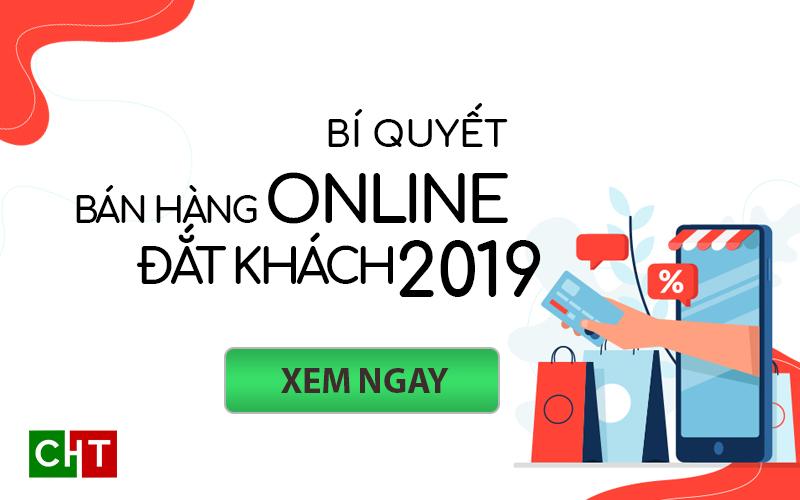 Ảnh đại diện Bí quyết bán hàng online đắt khách 2019