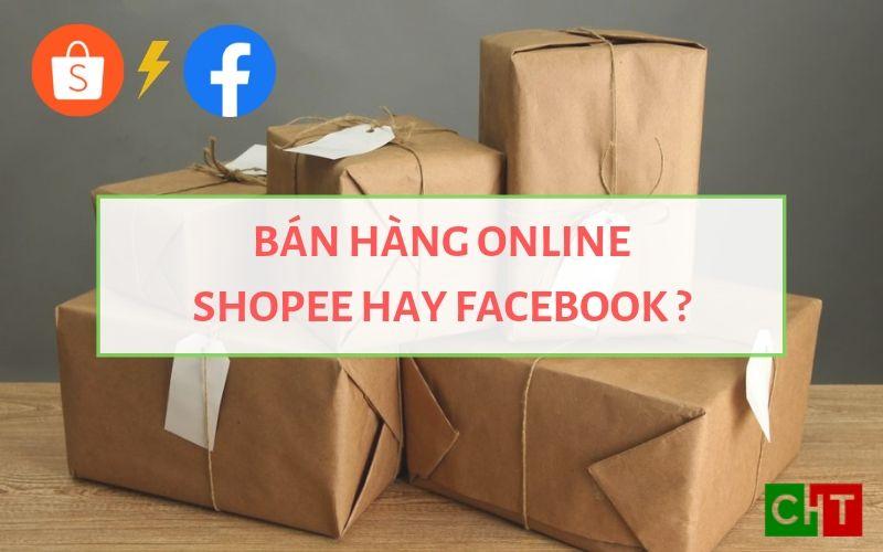 Ảnh đại diện Bán hàng trên Shopee hay Facebook