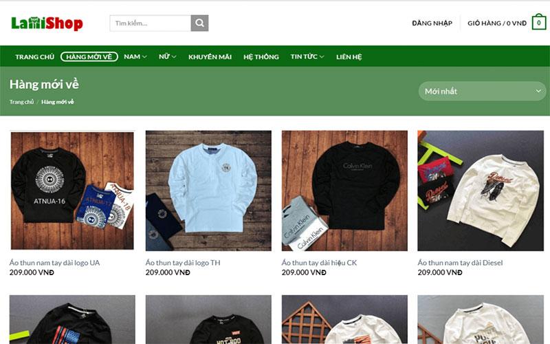 Chuỗi cửa hàng thời trang LamiShop