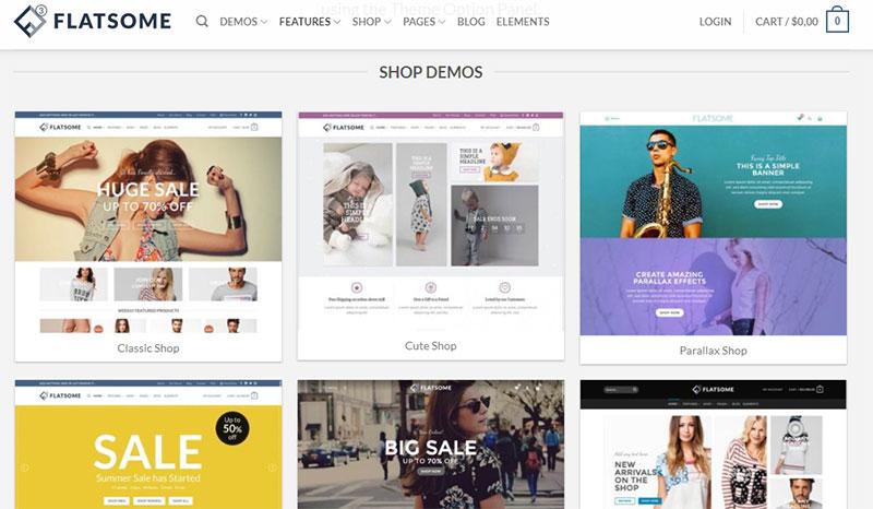 cách tạo 1 trang web bán hàng online flatsome