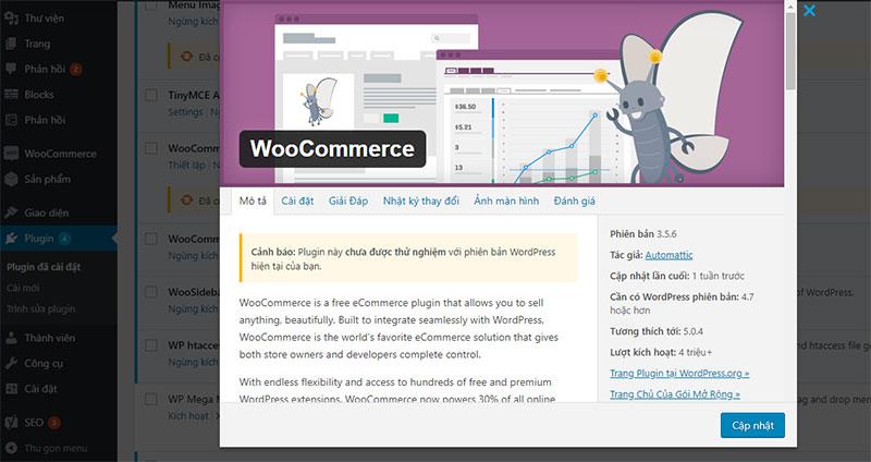 cách tạo 1 trang web bán hàng online woocomerce