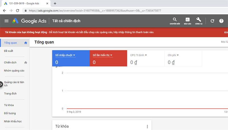 chạy quảng cáo google ads bước 4