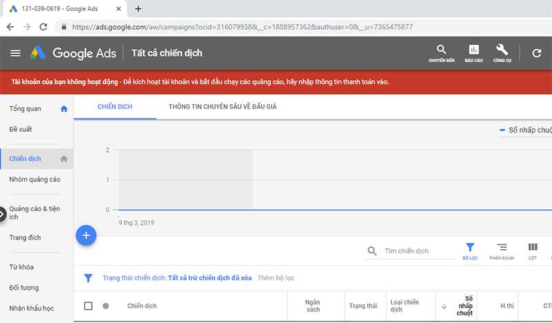 chạy quảng cáo google ads bước 5