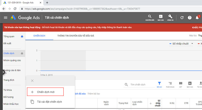 chạy quảng cáo google ads bước 7