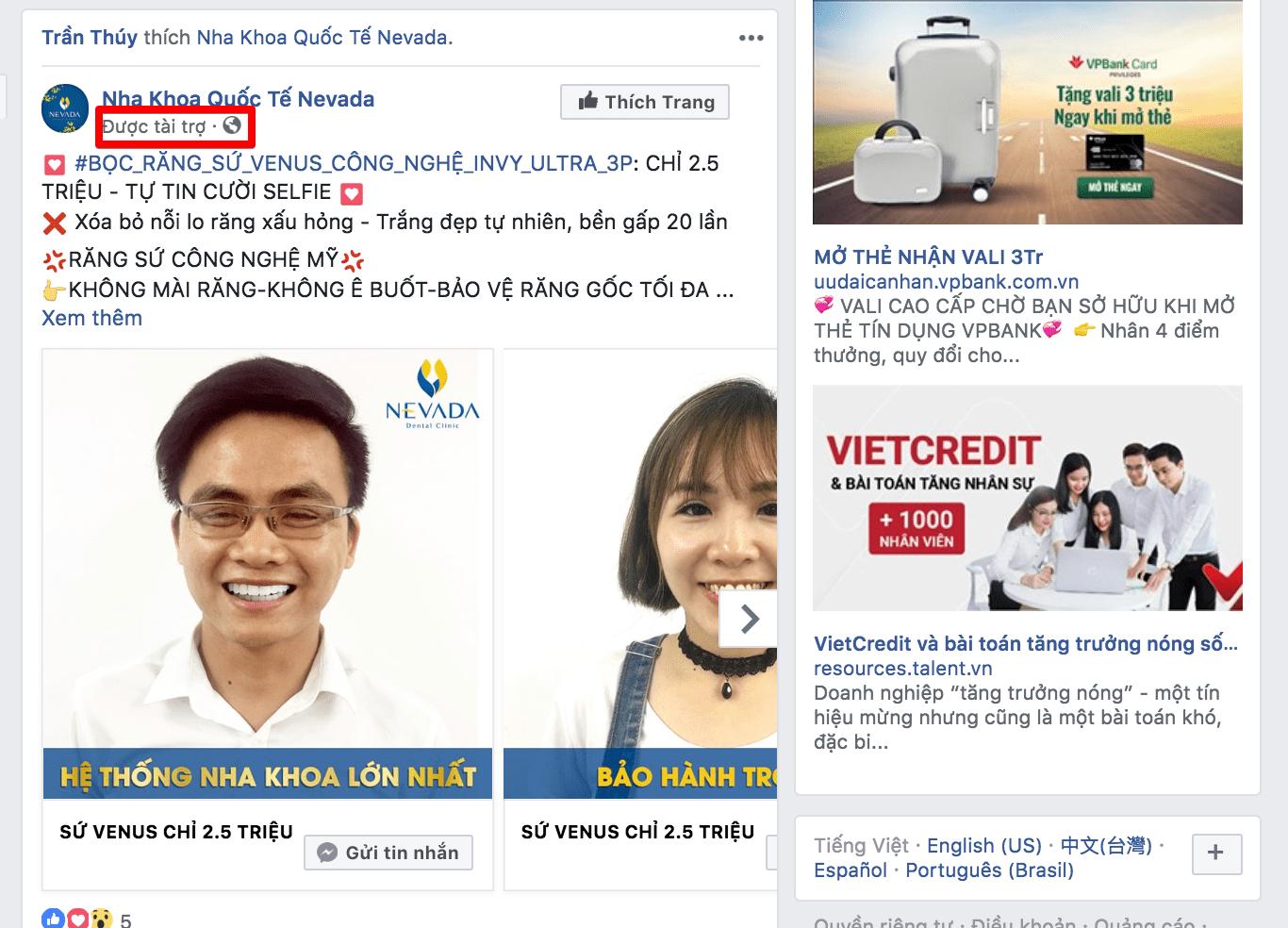 Chạy quảng cáo bán hàng online