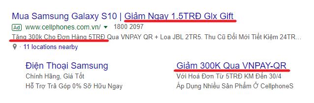 hướng dẫn viết mẫu quảng cáo google ads