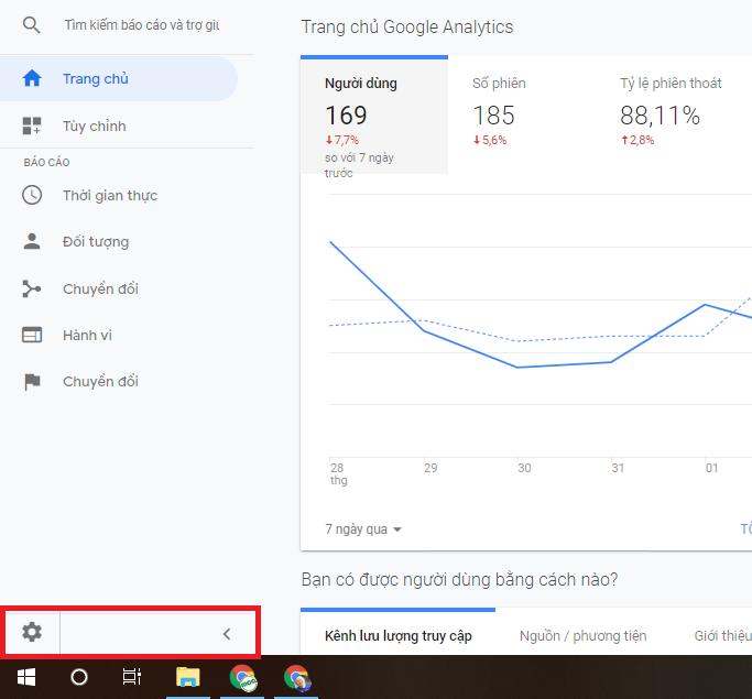 hướng dẫn tạo liên kết chuyển đổi google analytics