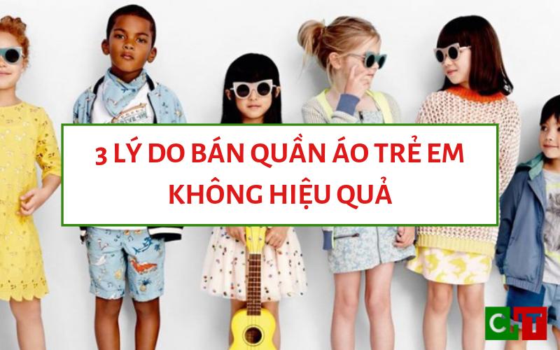 Bán quần áo trẻ em trên Facebook